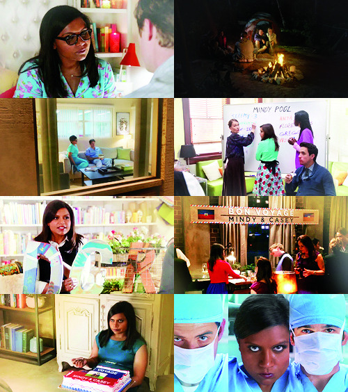 "The Mindy Project 1.24 - ""Take me with you"""
