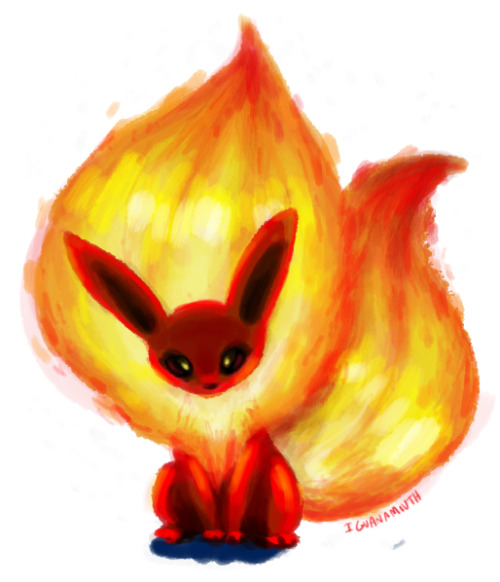 i dunno sometimes you just gotta draw flareon