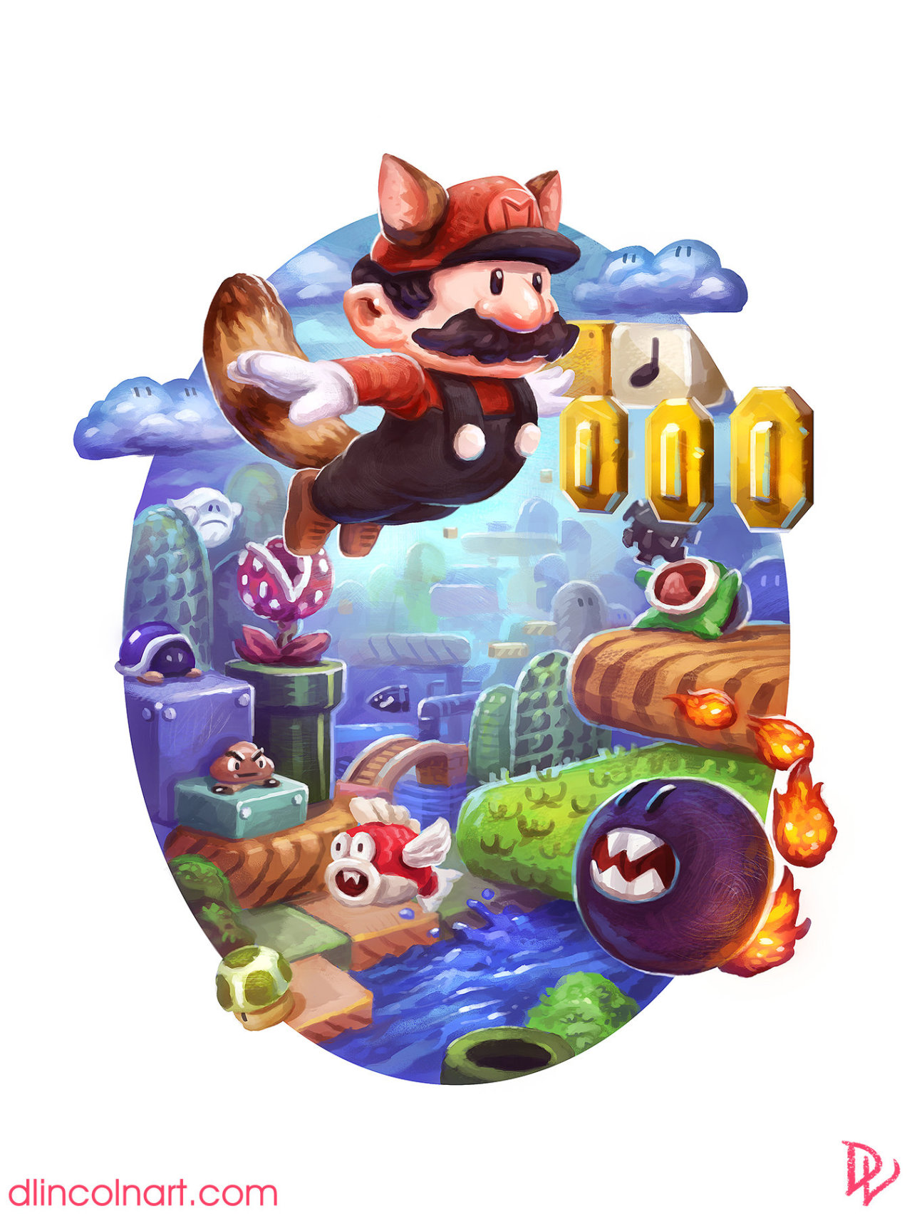 Super Mario Bros. 3 by Dustin Lincoln