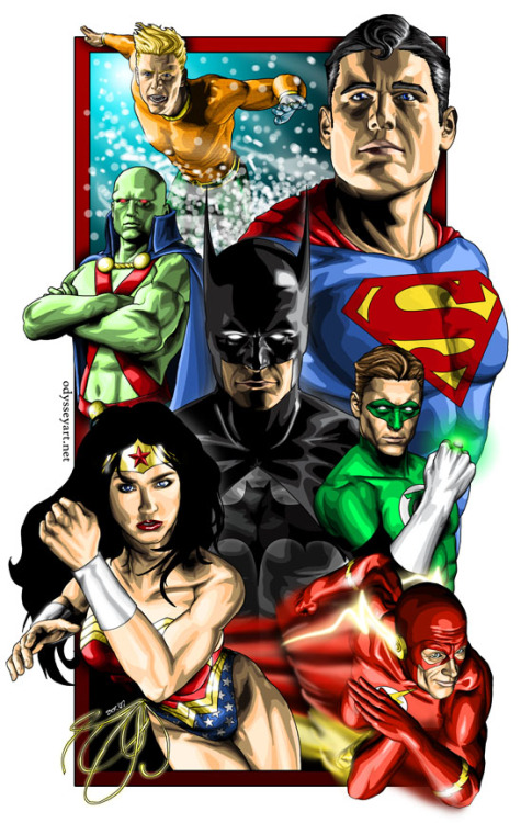 Justice League of America by Brian C. Roll