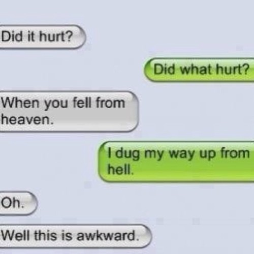 shaizcorner:  #lmao #comebacks to #bad #pickup #lines