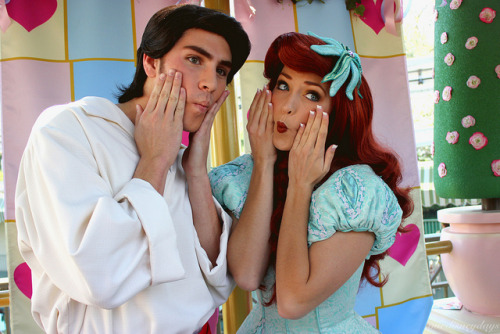 Prince Eric and Ariel on Flickr.