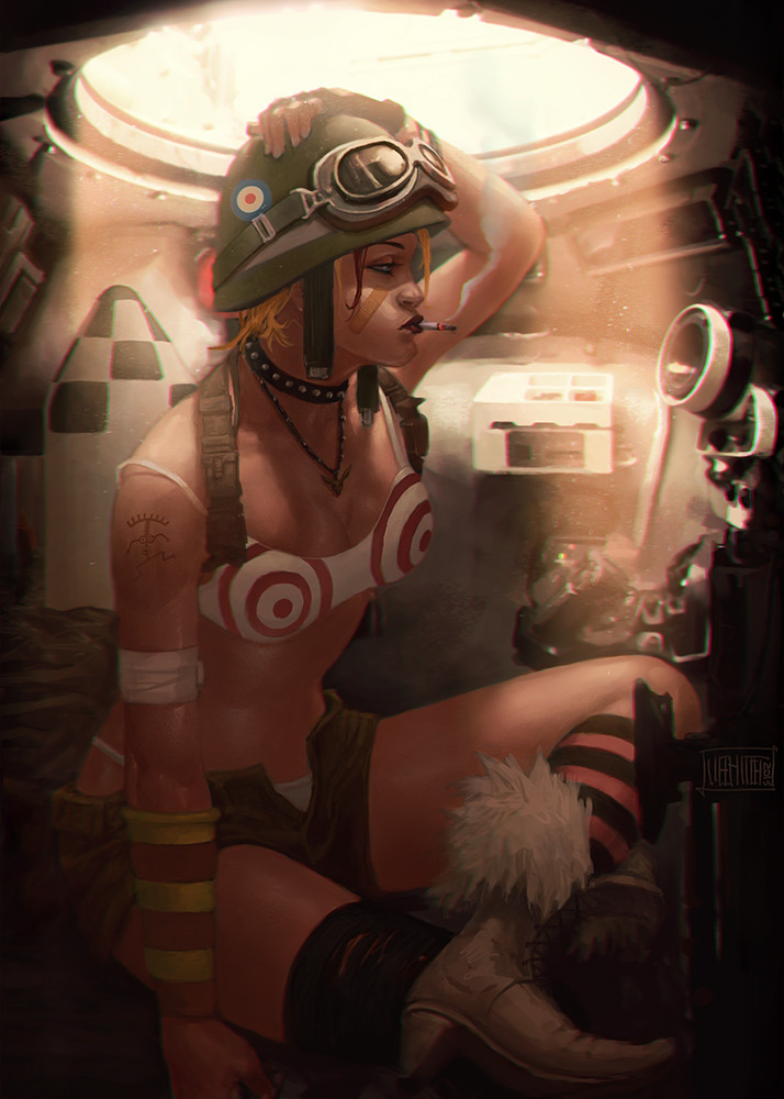 Tank Girl by Mehmet Ozen (Memed) Artist: Tumblr