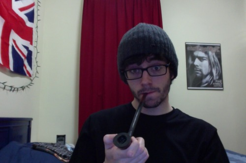 Having a job = having money for things = I bought Aragorn's Pipe from the Lord of the Rings just because I can.