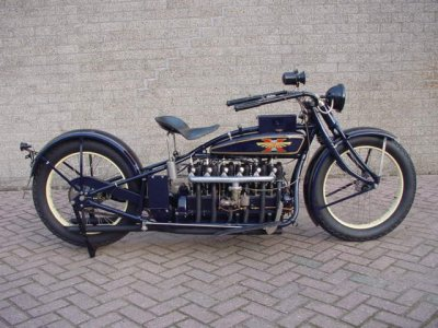 americabymotorcycle:  1926 HENDERSON Super SIX.