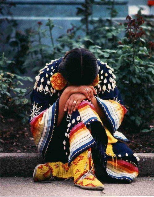 rwa42:  nativewomanresting by IDLENOMORE4 on Flickr.