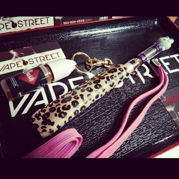 #JazzysCrush // animal print from @vapestreet