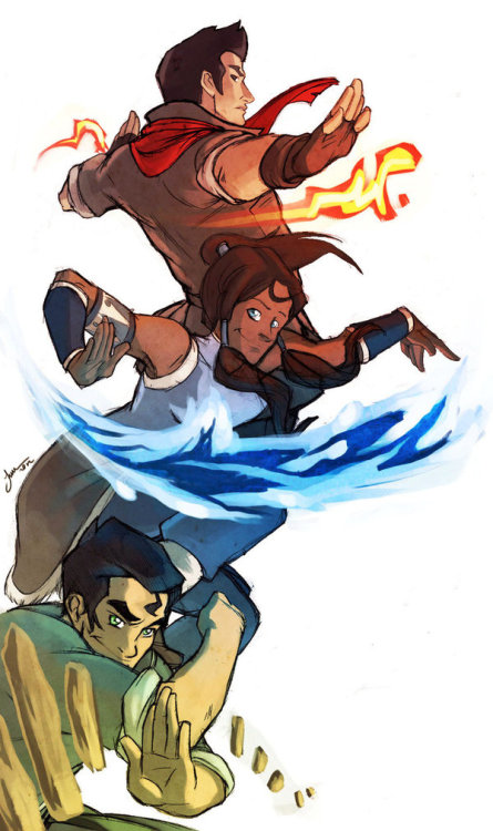 korrasboyfriends:  team korra by *lightshine95