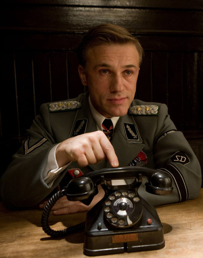 bohemea:  Christoph Waltz in Inglourious Basterds