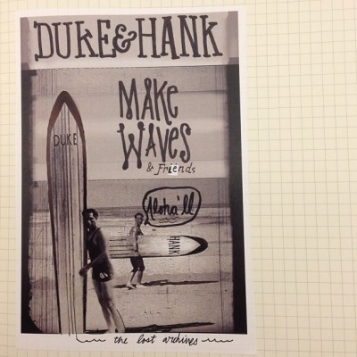 Doodling Up //: Duke & Hank — from the archives. #urbangroundswell #makewaves