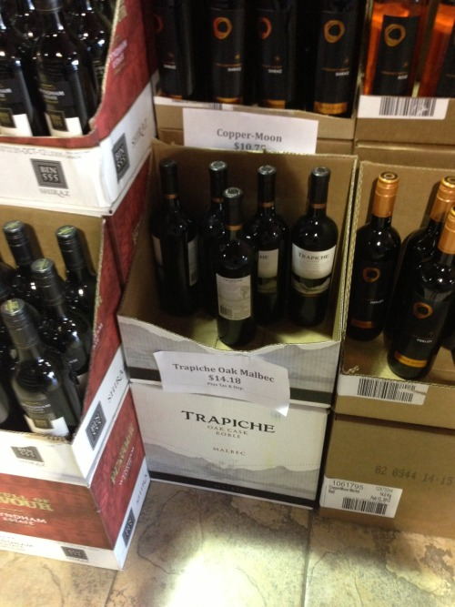 Crowfoot market 3 cases trapiche