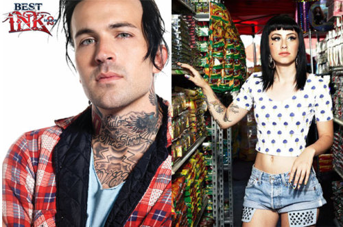"Watch Kreayshawn and Yelawolf talk tattoos in Billboard's new ""Marked Up"" video series, presented by Oxygen's Best Ink: http://blbrd.co/XBM1gt"