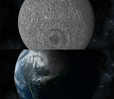 Tutorial: Away3D - Earth and Moon