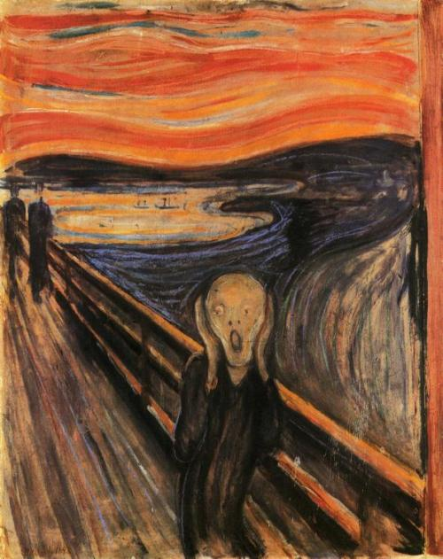 nuclearharvest:  The Scream by Edvard Munch 1893