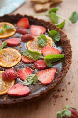 turningpoint2:  Week 8 - Frozen Chocolate Tart by anshu_si on Flickr.