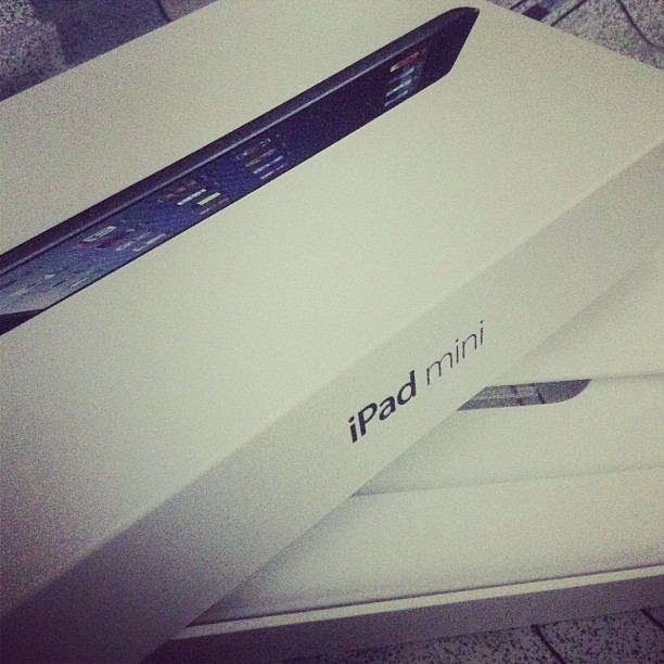 Something new for 2013. #ipad #mini #happy