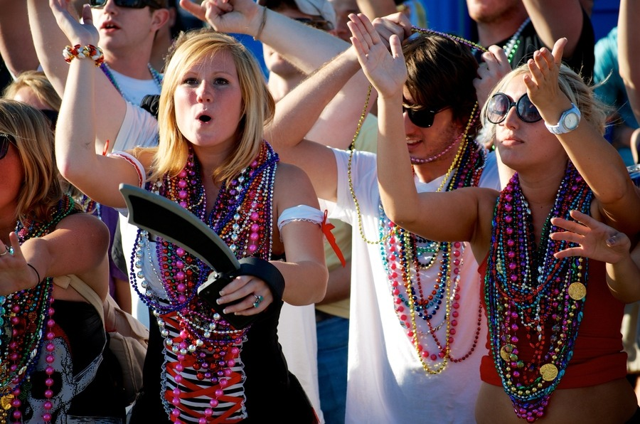 Gasparilla Crowd - http://bit.ly/117btky