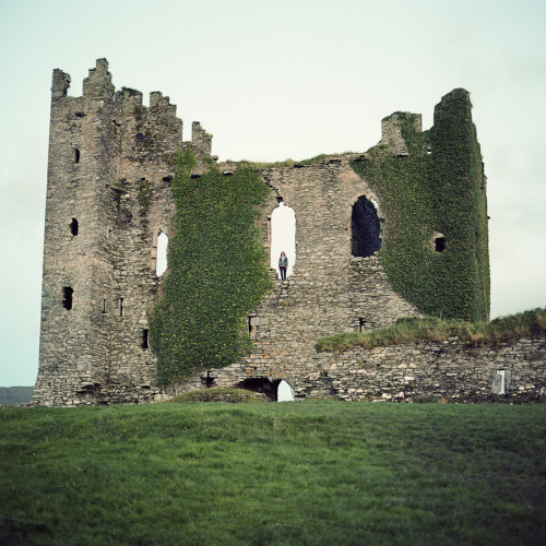 abandonedography:  Ghost of Ballycarbery by Timo Kirkkala