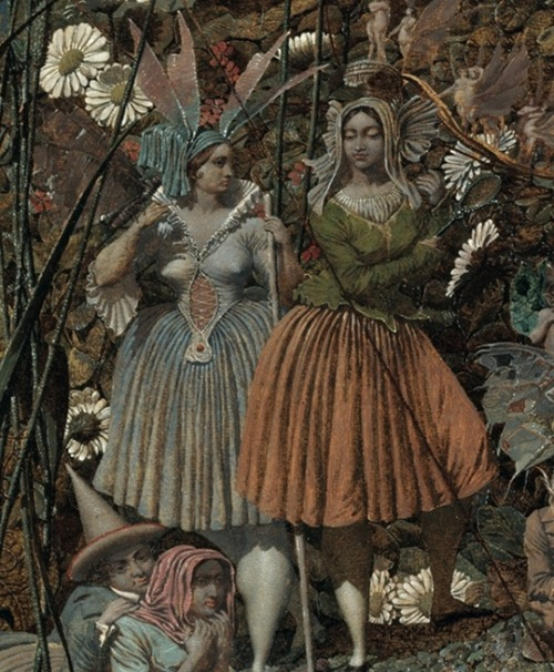 indigodreams:  The maids - Source: Tate (Richard Dadd, The Fairy Feller's Master-Stroke c.1855-64, Tate)