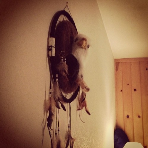 So Bad It Scares Your Dreams Away… Giant dream catcher!!! #sobadcomedy