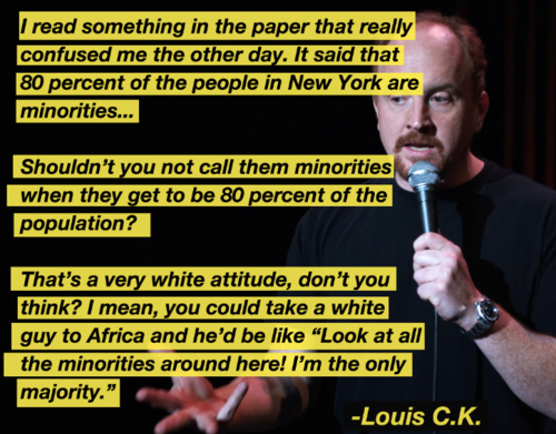 thewhitemankilledthetruth:  louie be getting it right sometimes