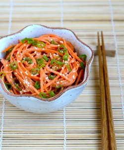Asian-Style Peanut Butter Carrot Salad