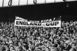 FIFA's unpopularity with fans is nothing new. Here's a banner at the 1966 World Cup, hosted by England and when FIFA's president was English - Sir Stanley Rous. (via pitchinvasion)