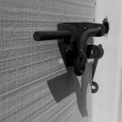Iron latch.