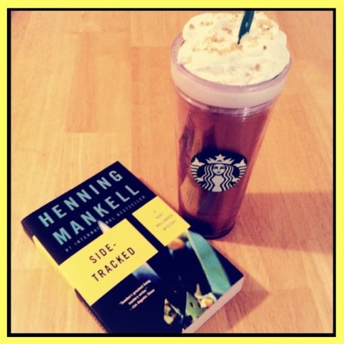 I'm a sucker for books-at-Starbucks pics.Salted Caramel Mocha & A Good Book#starbucks #StreamzooVille #cute #sweet #coffee #food #followme #book #yummy #happy(from @AttilaVision on Streamzoo)