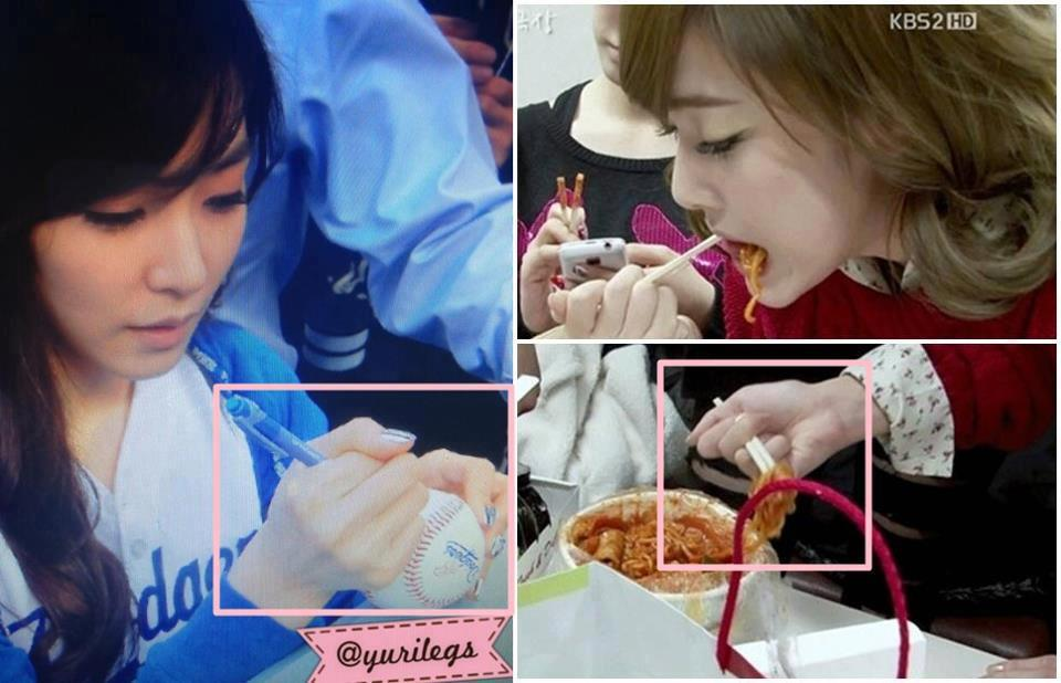 ci-el:  How to use pen and chopstick with Tiffany and Jessica Style~