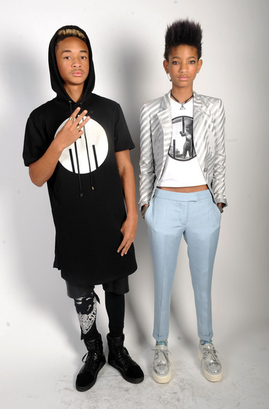 ssweet-dispositionn:  d0pe-princess:  inherglam:  Willow Smith looked edgy and chic backstage with brother Jaden at BET's Rip The Runway in NYC!  these two.  theyre so cool like wtf