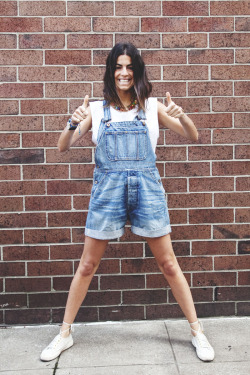 Oh sheeeeeeeet. I just got me some denim overalls. Woo! Cant wait to channel my inner Man Repeller (pictured).