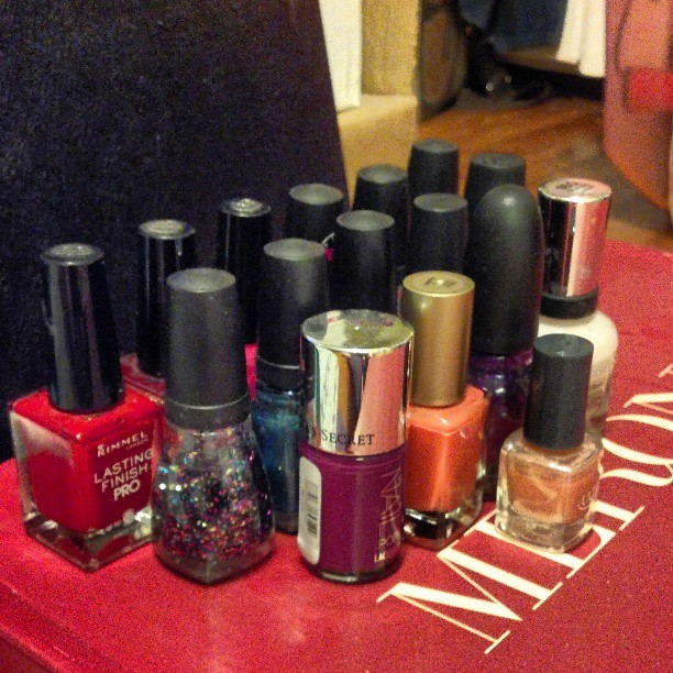 I MIGHT have a nail polish addiction…