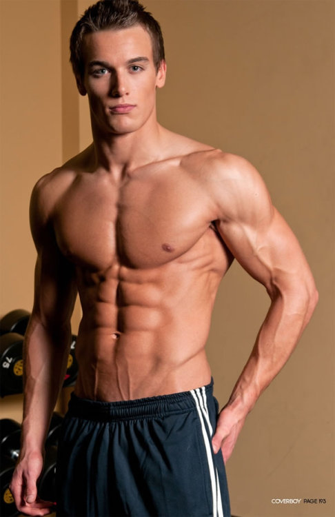 Marc Fitt the 22 year old fitness model is going places