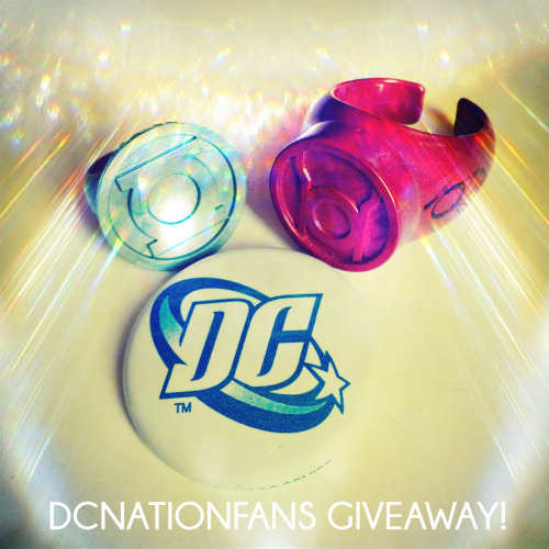 greenlantern-tas:  dcnationfans:  400 DCNATIONFANS! As a big THANK YOU to all of you out there who make this worth while, I'm going to send one lucky fan a piece of my personal collection~! The winner will receive: 1x  DC Pin 1x  2007 SDCC Green Lantern Ring Promo 1x  2009 Red Lantern Ring signed by JASON SPISAK ( Razer/ Wally West) at the DCNATIONFANS GLTAS/YJ Finale meetup! We will conduct the drawing via randomizer on SATURDAY MAY 25 during the West Coast airing of DCNation. To qualify to win on5/25/13 you must be following: DCNATIONFANS, have your askbox OPEN at the time of drawing, and be comfortable with giving us an address to mail the prizes. If you're under 18 ask your parents permission. THANK YOU ALL & GOOD LUCK FANS~!  DCNationFans is doing a thing!
