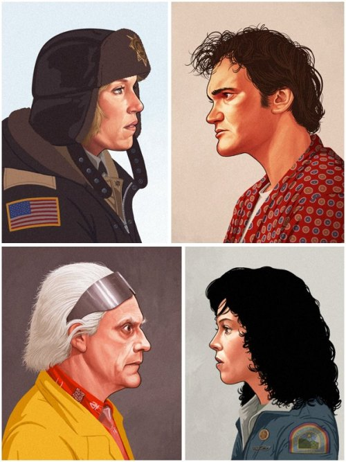 "L'image du jour © Mike Mitchell, Série ""The Portrait Show"""