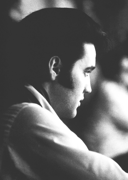 vinceveretts:  Elvis during the production of the '68 Comeback Special, June 1968.