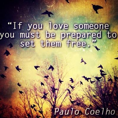 Repost @alkmist!! #love #setthemfree #paulocoelho #october #quote #beprepared