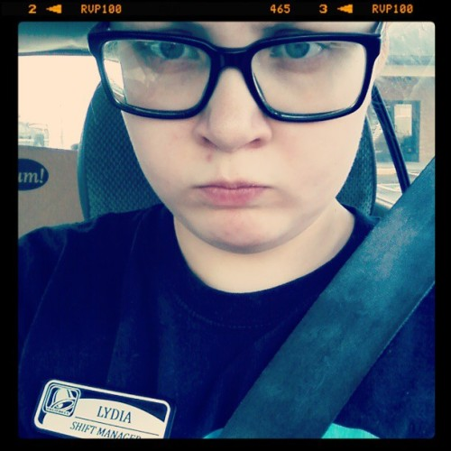 Pouty face because I didn't realize the bank was closed until 9 and now I am wasting time.