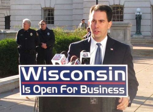 wisconsinforward:  Thanks to Republican lawmakers, predatory payday lenders are back in business in Wisconsin, and worse than before:  Many of the lenders have shifted from payday loans that were good for as little as two weeks to what they call installment loans - high-interest loans that don't fall under payday lending regulations. Installment loans can have annual interest rates of 500% or more.