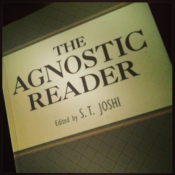 Finally have time for some leisure reading…up next! #agnostic #agnosticism