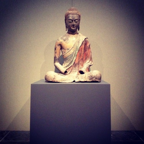 Seated #buddha at the #metropolitan #museum #nyc