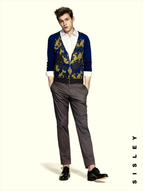 mensfashionworld:  Sisley Spring Summer 2013