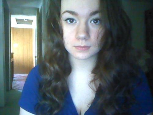 So I tried to curl my hair today, and I ended up cosplaying Hermione.