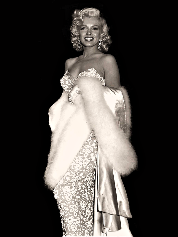 lovingmarilyn:  Marilyn at the premiere of How To Marry A Millionaire, 1953