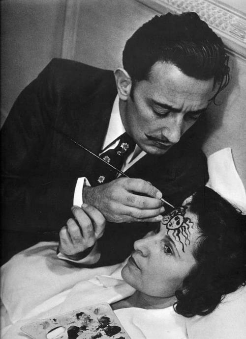 cruello:  Salvador Dalí and Gala