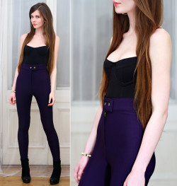 lookbookdotnu:  Imperial purple (by Ariadna Majewska)