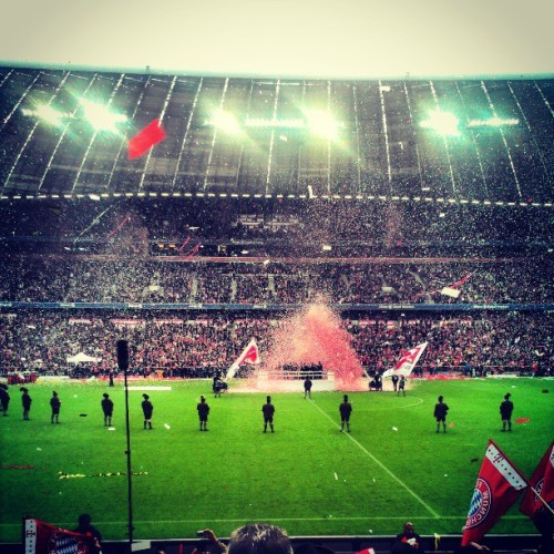 Bayern are champions again!!!!!!!!!!