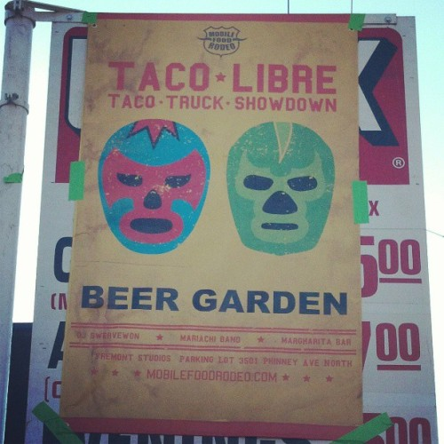 Taco. Truck. Showdown.