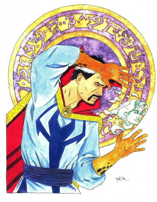 Doctor Strange by Jerry Minor